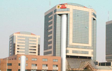 NNPC Headquarters, Abuja.