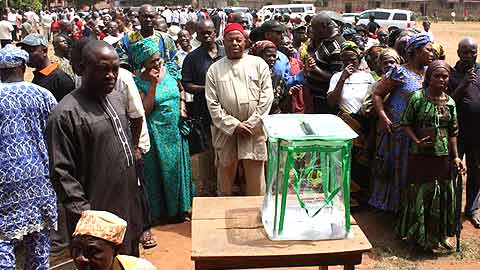 Acting President Goodluck Jonathan vowed that never again shall Nigeria witness elections that would be characterized by fraud.