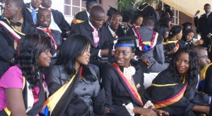 A Cross Section of the Final Year Students  Photo By Diran Oshe