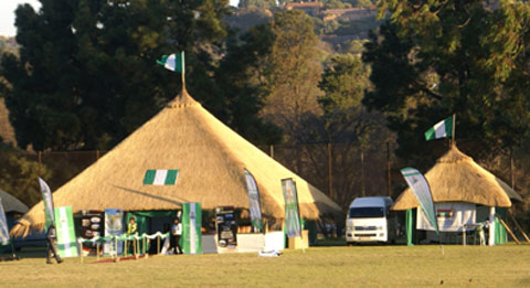Nigeria Tourism Village in South Africa held at Zoo Lake Sports Club, Park-wood, Johannesburg, South Africa . Photo by Sylva Eleanya