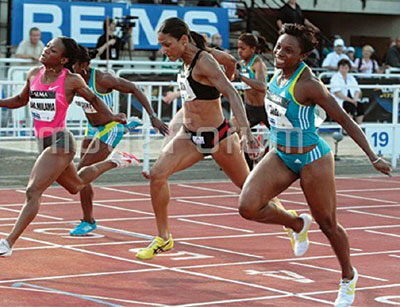 File photo: Athletes
