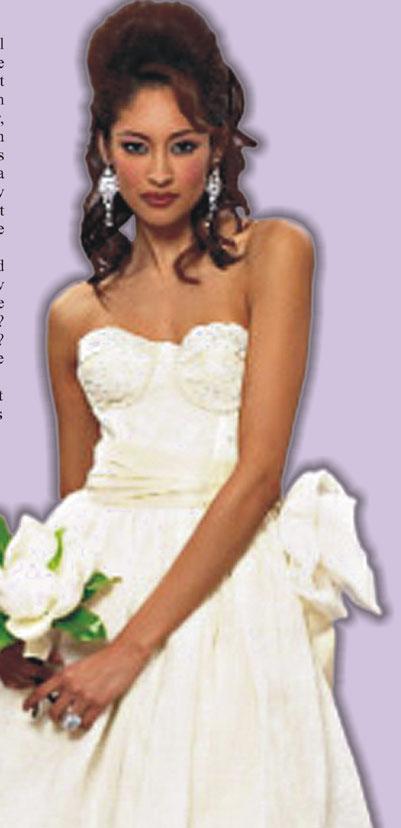 Deborah Lindquist Wedding Gown