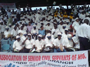 File photo: Association of Senior Civil Servants of Nigeria