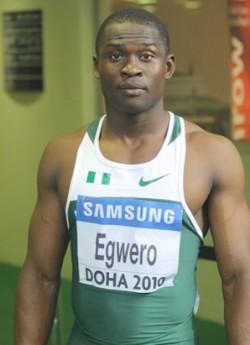 Ogho-Oghene Egwero ... Competing at the London 2012 Olympics