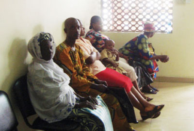 Patients at the LASUTH as doctors called off strike