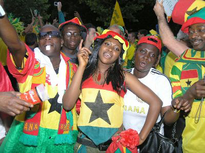 File photo: Ghanaian fans