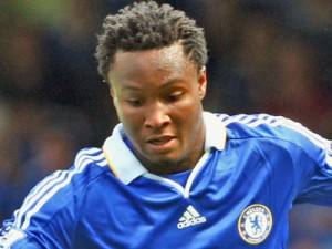 Mikel Obi on the ball