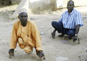 Beggars on the beat...say they beg to survive economic hardship