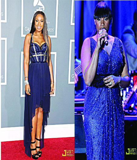 Jennifer Hudson (before)