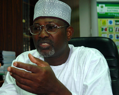 Jega, INEC Chairman.