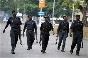 *Men of the Nigerian Police