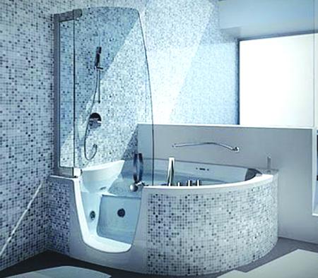 give your bathroom a stunning look with corner bathtub - vanguard