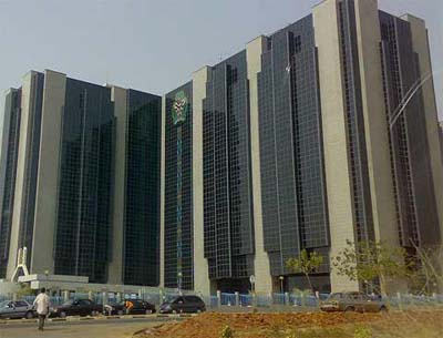 The Central Bank of Nigeria, CBN, headquaters, Abuja