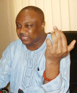 Great Ogboru...insists he should have been governor of Delta State