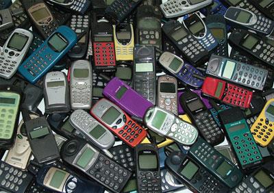 File photo: refurbished phones