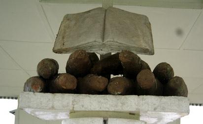 The Bible on yams in Araya.