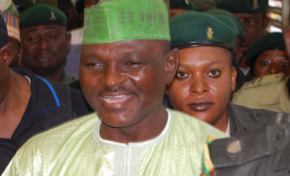 Al-Mustapha at the Lagos  High court Igbosere Lagos