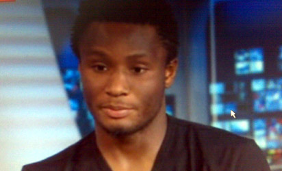 John Obi Mikel at SKYnews London pleading for his dad's release