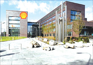 The International headquarters of Royal Dutch Shell, Netherland.
