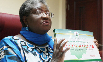 Finance Minister, Mrs. Ngozi Okonjo-Iweala