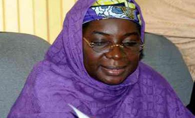 Education minister, Ruqayyatu Rufai