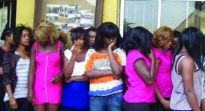 30 Nigerian prostitutes jailed for 6 weeks