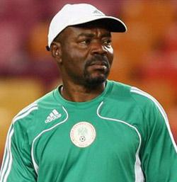 Flying Eagles coachJohn Obuh