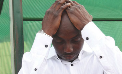 Siasia disappointed after the Nation's Cup ouster
