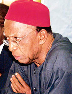 Nwabueze: Demands a national conference