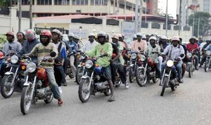 *File Photo okada riders