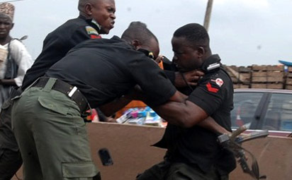 Two policemen arrested for opening fire on FRSC officials – Abia PPRO