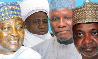 Gowon, Sultan of Sokoto, Yakowa and Sambo