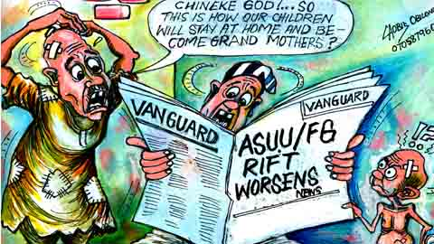 Asuu cartoon