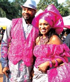 *Muma gee and husband Prince Eke