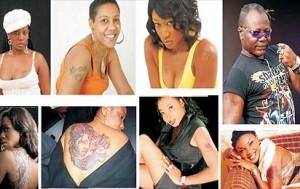 Celebrities and tatoos