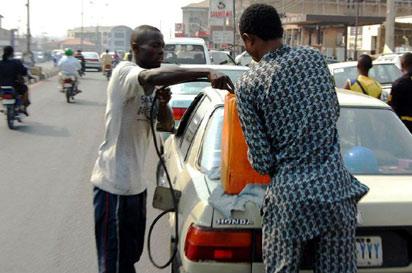 *File photo: Fuel sold in black market