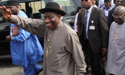 *President Goodluck Jonathan