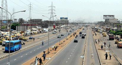 *Free Lagos highway