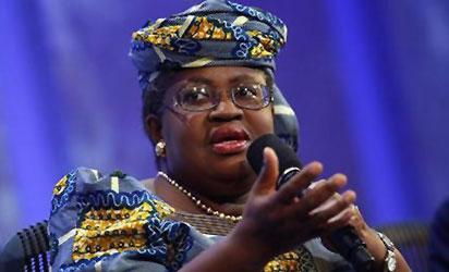 *Finance Minister, Ngozi Okonjo-Iweala