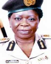 Comptroller-General, Nigeria Immigration Service, Mrs. Rose Uzoma