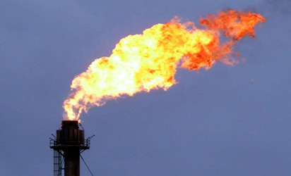 *Gas flare