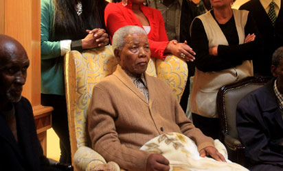 File photo: Nelson Mandela