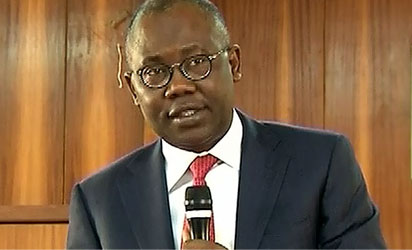 *Attorney General of the Federation and Minister of Justice, Mohammed Adoke