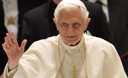 *Pope Benedict XVI