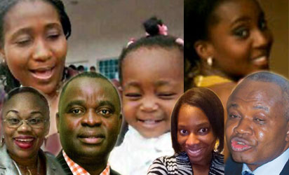 Some of the victims of Dana Plane crash: Fatokun and daughter, Olusola Arokoya, Ajuonuma, Onita, Ike Abugu and Kunbi