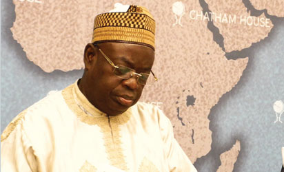 Chairman of the Northern Governors' Forum and governor of Niger State,  Dr. Babangida Aliyu