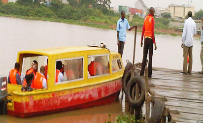 Water transport: LASG commences dredging of Ebute-Ojo Jetty, others