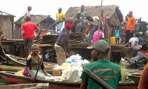 The great demolition (Makoko)