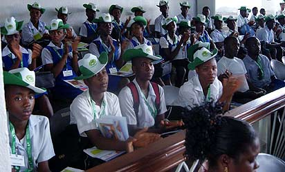 File photo:  Cross section of students