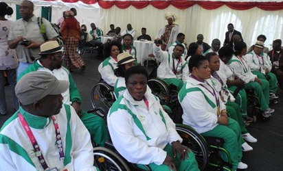 File photo: Cross Section of Nigeria's Paralympians